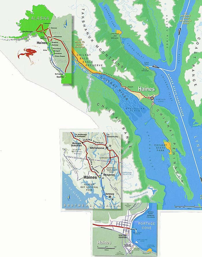 Maps of Haines | Haines Alaska Community Website