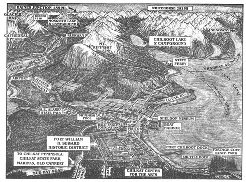 Haines Alaska Map Dave Nanney 39 s 3d Map of Haines