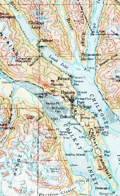 Maps Of Haines Haines Alaska Community Website